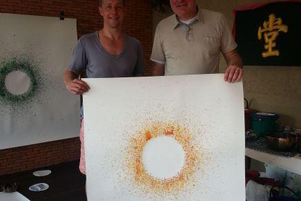 Lars Seier Christensen møder Jeppe Hein iThailand