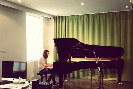 Snapshot fra indspilningen af det kommende Mew album iKøbenhavn