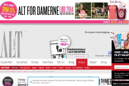 Danmarks mest kiksede webdesign?