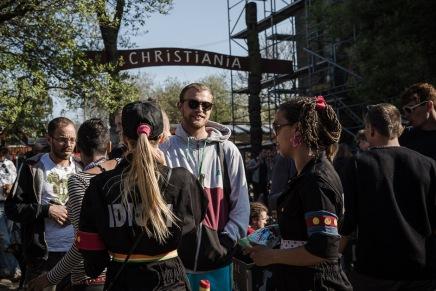 Fotoserie på Modkraft fra Christiania – nu med solskin ogforår