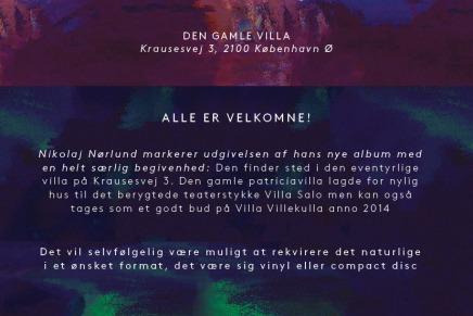 Se video fra villa pladereceptionen for det nye album med NikolajNørlund
