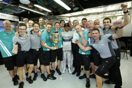 Lewis Hamilton vinder Bahrain Grand Prix2014
