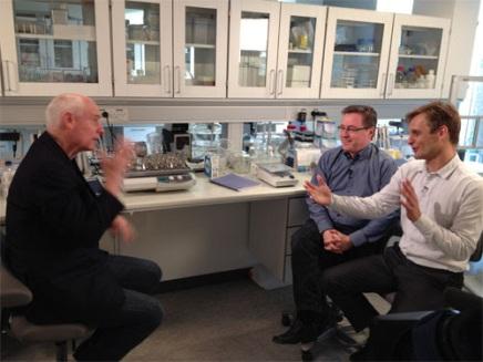 Revolutionerende vandrensning – CNN besøger Aquaporin iKøbenhavn