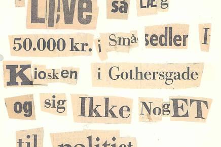 Cut-up digt af Arne HerløvPetersen