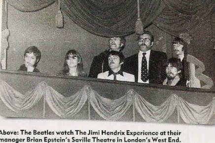 The Beatles ser The Jimi HendrixExperience