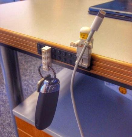 Smart LEGO holder