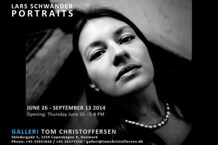 Lars Schwander udstiller portrætter på TomChristoffersen