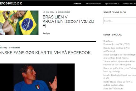 Følg VM i Fodbold på VMFODBOLD.DK og@vmfodbold