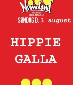 Christianias Gratis Søndagskoncerter præsenterer HIPPIE GALLA2014!!