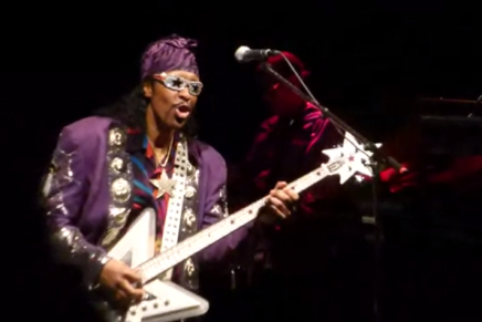 Bootsy Collins i Amager Bio [video]
