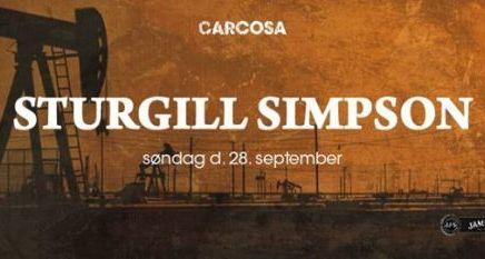 Lyt til Sturgill Simpson koncerten iPumpehuset