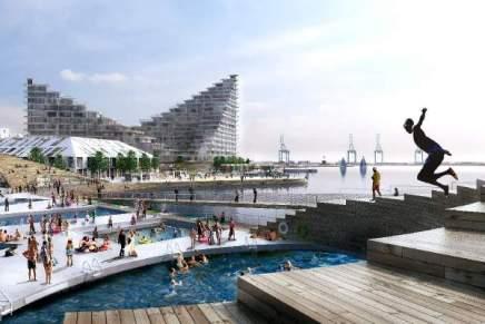 Aarhus Ø er det nyeØrestaden