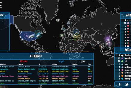 Følg cyberkrigen live pånettet