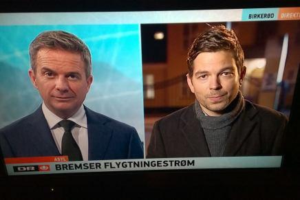 Mikael Bertelsen serTV-Avisen