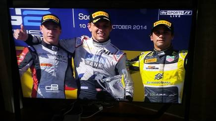 Marco Sørensen vinder GP2 iRusland!