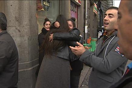 Dansk-kurdere fejrer terror-frifindelse