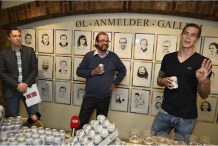 Henrik Damgaard lancerer ny øl sammen med DanielAgger
