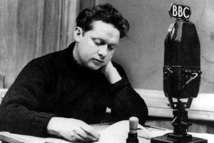 Digteren Dylan Thomas ville være blevet 100 år idag