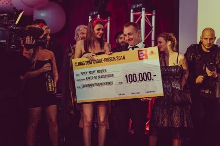 Gammel Dansks Aldrig som andre-pris2014