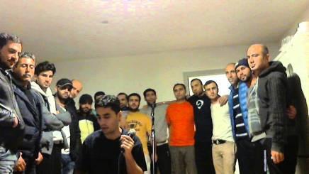 Syrisk flygtning fra Nordborg synger Kim LarsensPapirsklip