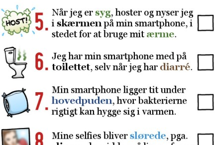 Valdefar klar med test: Så klam er dintelefon