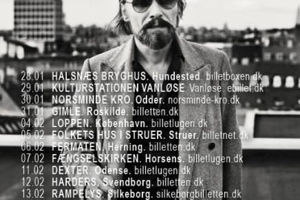 Steen Jørgensen fra Sort Sol tager på soloturné
