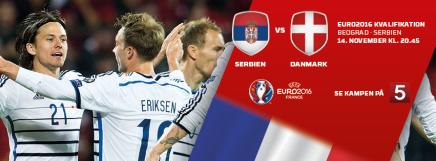 Se holdopstillingen til Danmarks EM kvalifikationskamp modSerbien