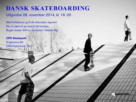 Kom til fernisering for ny bog om dansk skateboardkultur