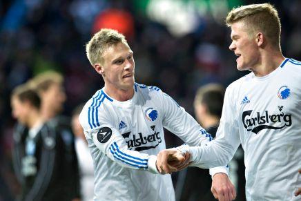 Se Nicolai Jørgensens sejrsmål for FCK modSilkeborg