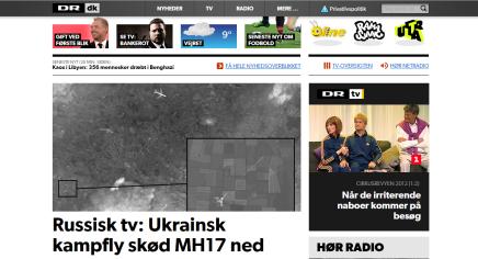 Dramatisk udvikling i MH17 sagen – både DR og TV2 rydderforsiderne