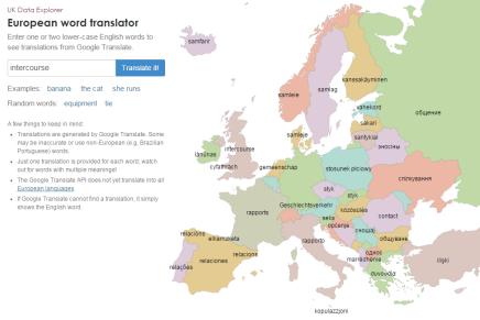 Smart ny web app oversætter engelske ord til alle europæiskesprog