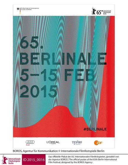 Plakaten for Berlinale 2015 er blevetafsløret