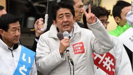 Resultatet af valget iJapan