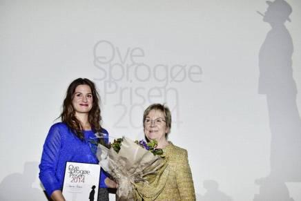 Danica Curcic tildelt Ove Sprogøeprisen