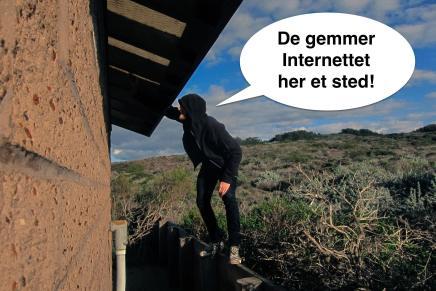 Hvor er internettetegentligt?