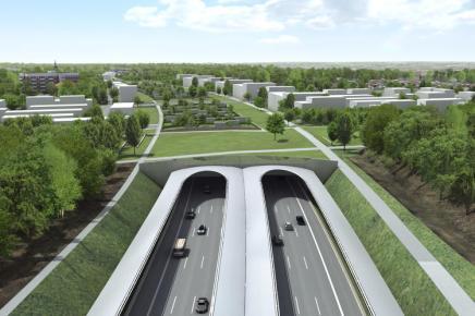 Hamburg vil overdække motorveje medparker