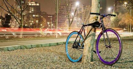 Tre designstuderende fra Chile har designet en cykel, der ikke kanstjæles