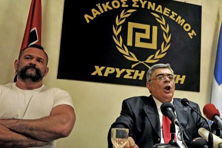 I Grækenland putter de ikke nationalisterne på TV – de putter dem ifængsel