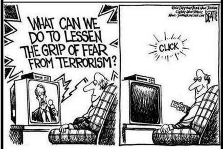 Hvordan slipper vi af med frygten forterrorisme?