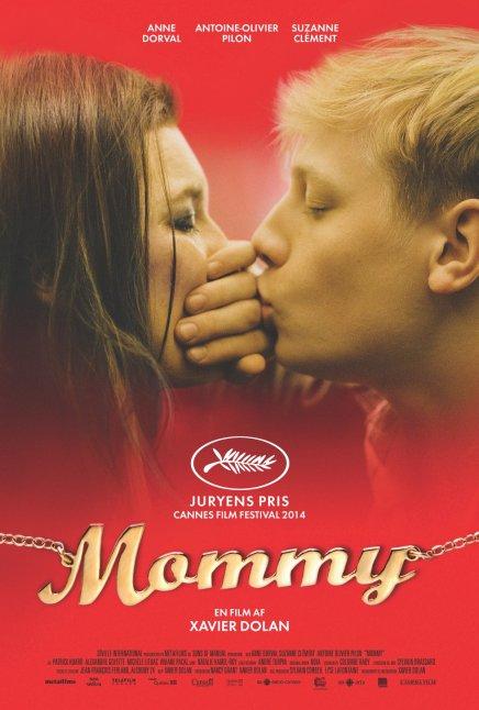 Her er plakaten og traileren tilMommy
