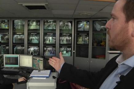Over 100 kameraer overvåger Metroens 140.000 passagerer hverdag