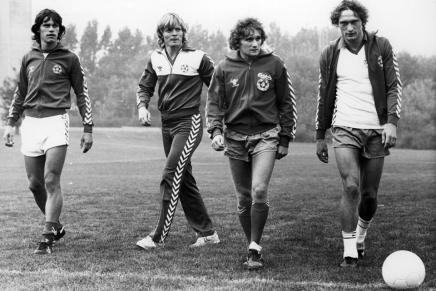 Dengang det danske fodboldlandshold varrock&roll