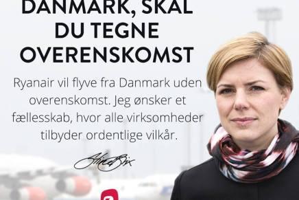 """""""Kommer du til Danmark skal du tegne overenskomst"""""""