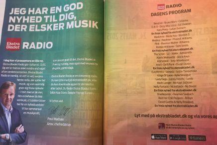 Ekstra Bladet åbnerradiostation