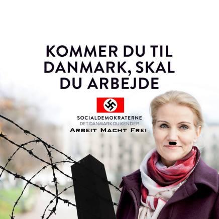 Venstre og Socialdemokraterne konkurrerer om værstekampagner
