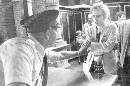 Johnny Rotten nægtet adgang iTivoli