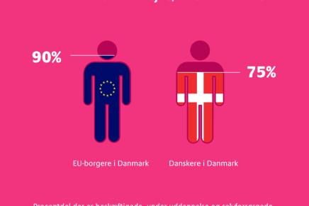 Arbejdstagere fra andre EU lande kommer til Danmark for at arbejde, ikkenasse