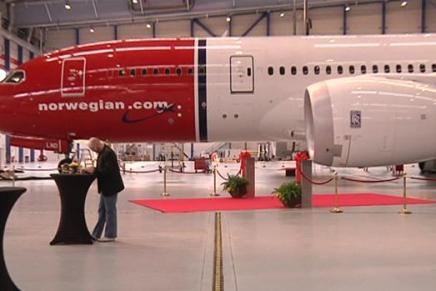Boeing åbner kæmpe flyværksted i KøbenhavnsLufthavn