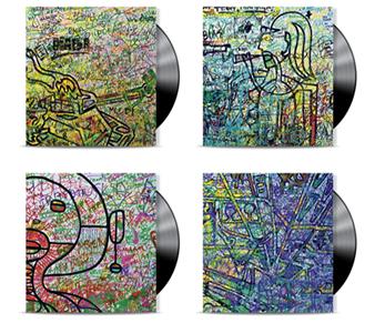 Lars H.U.G. går guld og udsender vinyl med fire forskelligekunstomslag