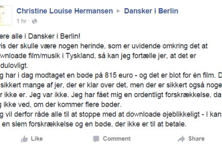 Unge danskere får 815 euro i bøde for at anvende den ulovlige filmtjeneste Popcorn Time iTyskland